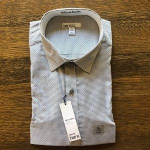 *NEW* Bar III slim fit easy care button down shirt